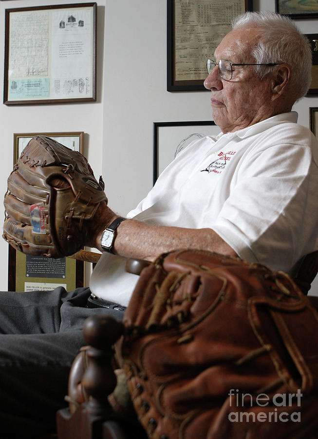 Baseball - Pitcher Bob Feller Photograph by Icon Sports Wire