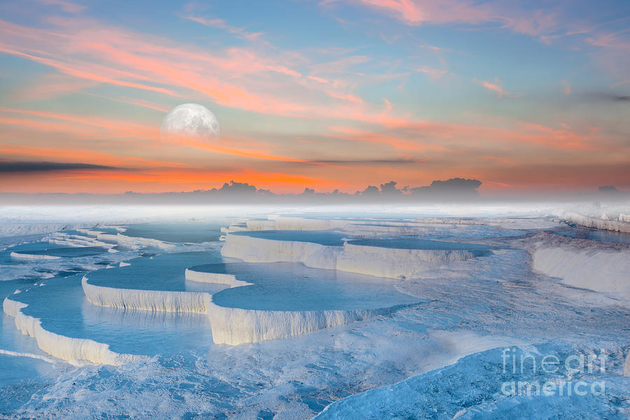 Sunrise Photograph - Beautiful Sunrise And Natural by Muratart