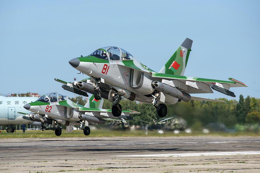 Belarusian Air Force Yak-130 Advanced by Daniele Faccioli