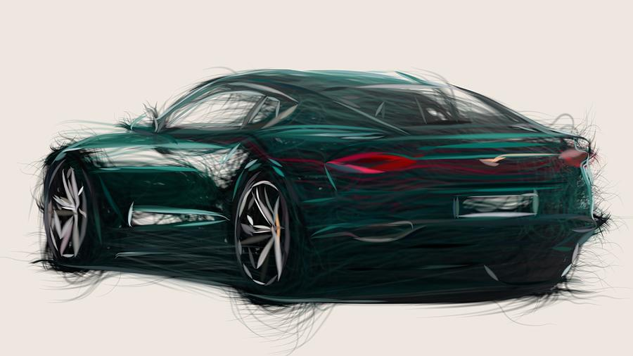 Bentley Exp 10 >> Bentley Exp 10 Speed 6 Drawing