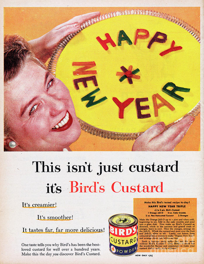 Birds Custard Photograph by Picture Post