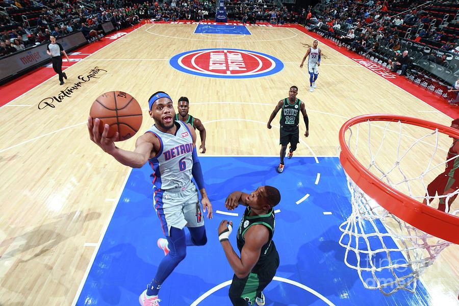 Boston Celtics V Detroit Pistons Photograph by Brian Sevald