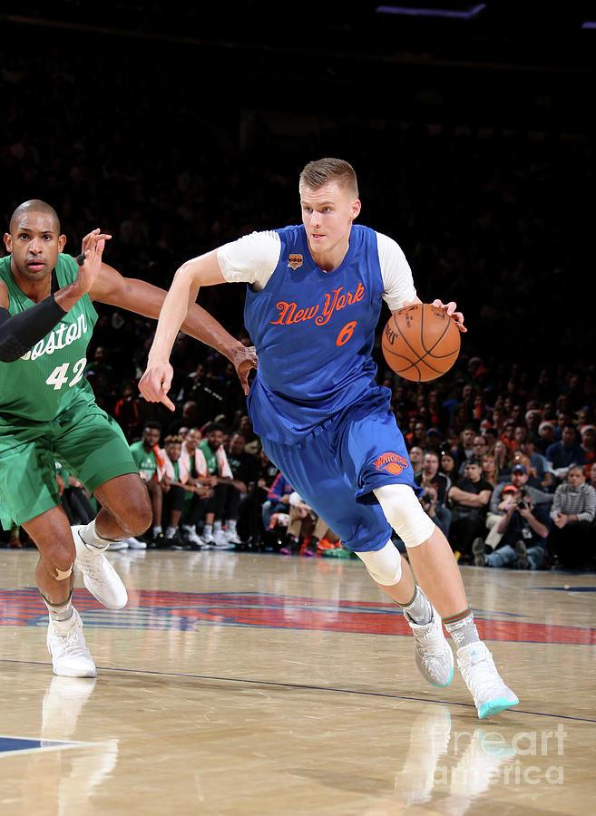 Boston Celtics V New York Knicks Photograph by Nathaniel S. Butler