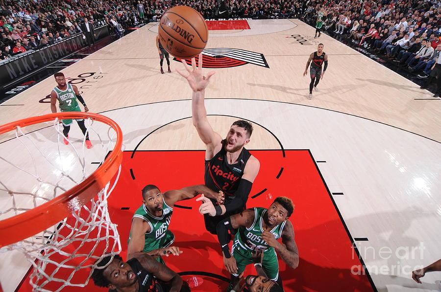 Boston Celtics V Portland Trail Blazers Photograph by Sam Forencich