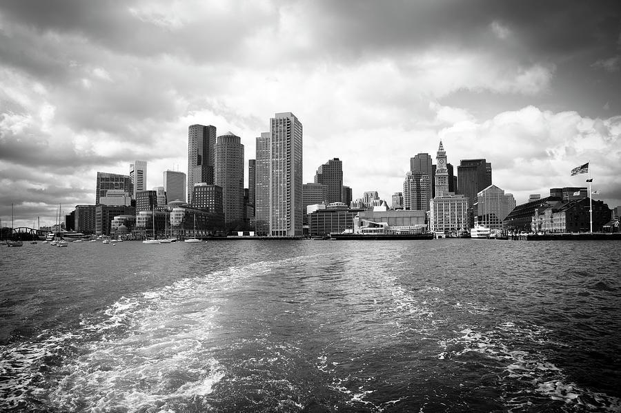 Boston Skyline Photograph by Angiephotos