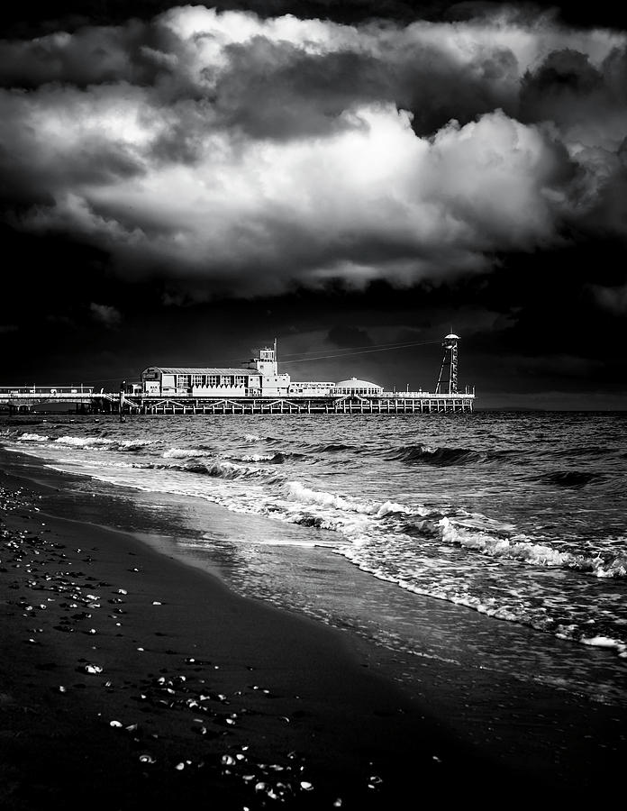 Bournemouth Pier, Dorset, UK. by Maggie McCall