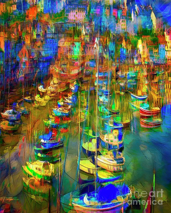 Brixham Harbour by Edmund Nagele