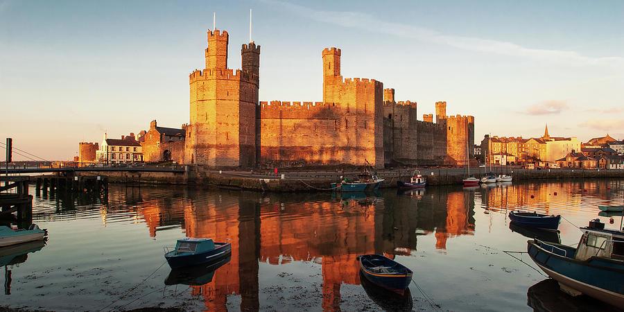 Caernarfon Castle by Peter OReilly