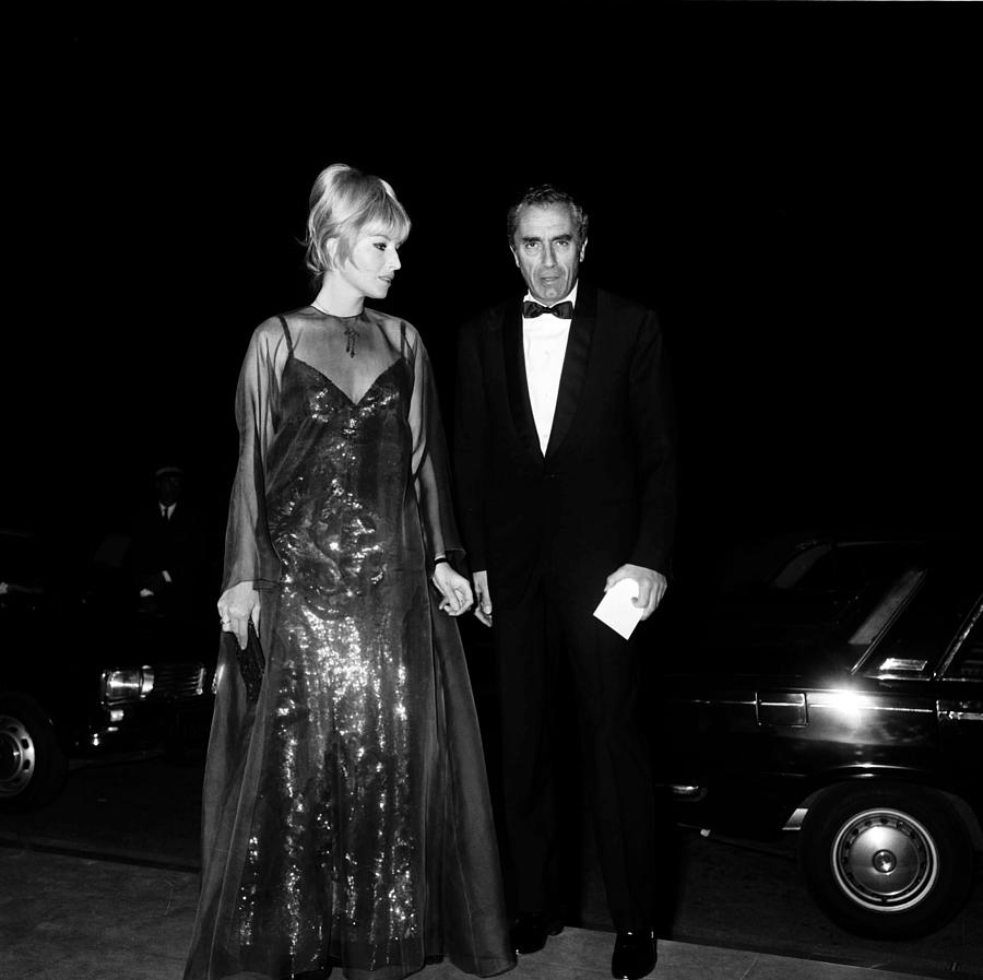 Cannes Film Festival In 1967 Photograph by Gilbert Tourte