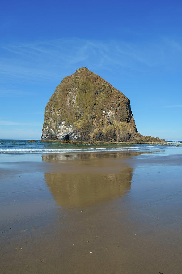 Cannon Beach And Haystack Rock Oregon Usa Photograph By Joseph Gallagher