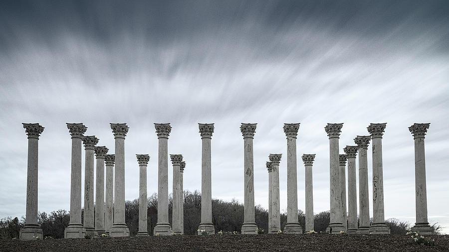 Capitol Columns by Robert Fawcett