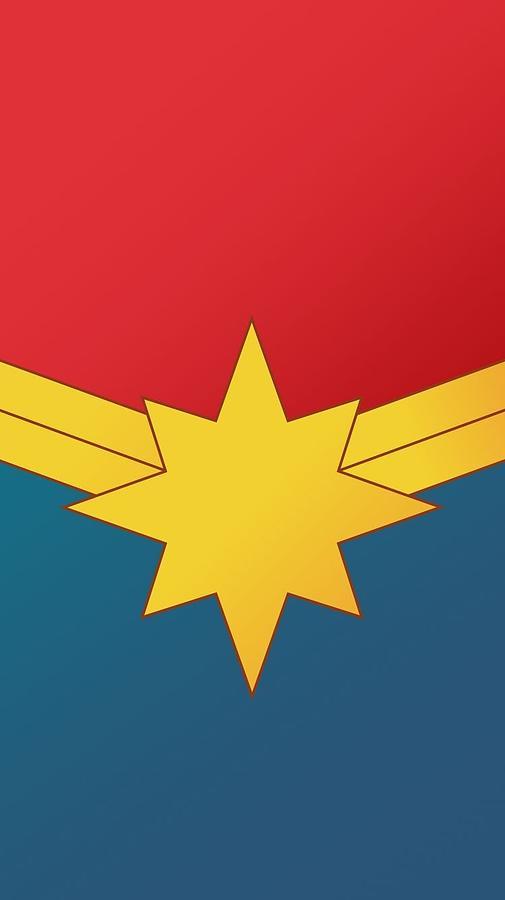 Iron Man Digital Art - Captain Marvel 2019  by Geek N Rock