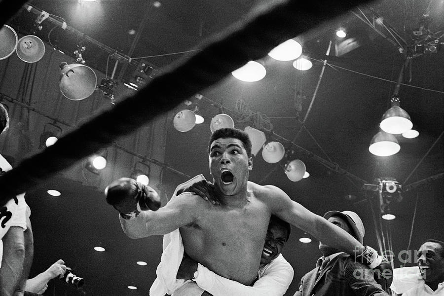 Cassius Clay After Winning Championship Photograph by Bettmann