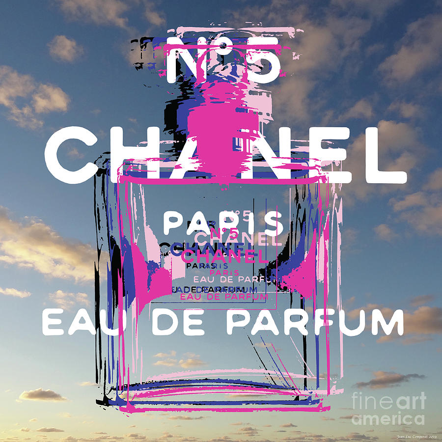 Chanel No 5 Pop Art  by Jean luc Comperat