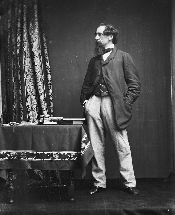 Charles Dickens Photograph by Hulton Archive