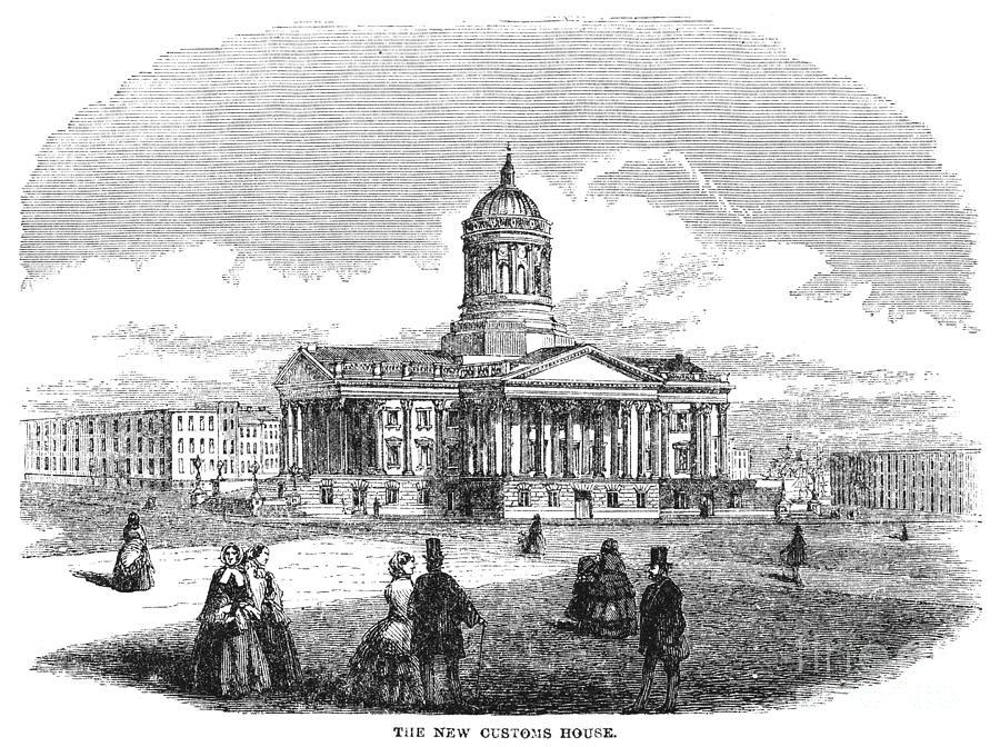 1850 Drawing - Charleston, 1857 by Granger