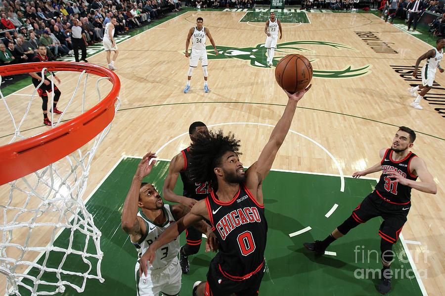 Chicago Bulls V Milwaukee Bucks Photograph by Gary Dineen