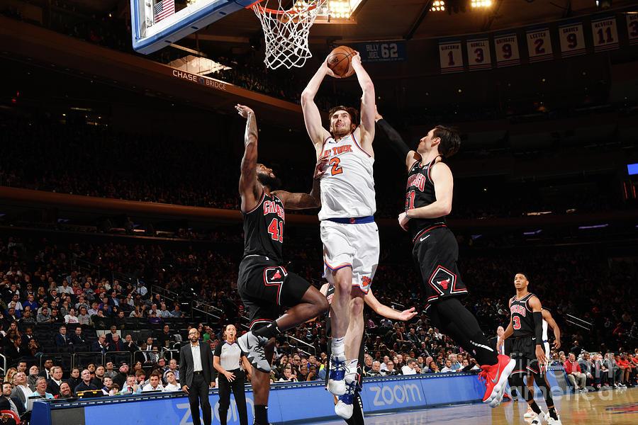 Chicago Bulls V New York Knicks Photograph by Jesse D. Garrabrant