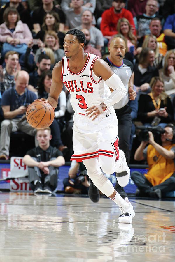 Chicago Bulls V Utah Jazz Photograph by Melissa Majchrzak