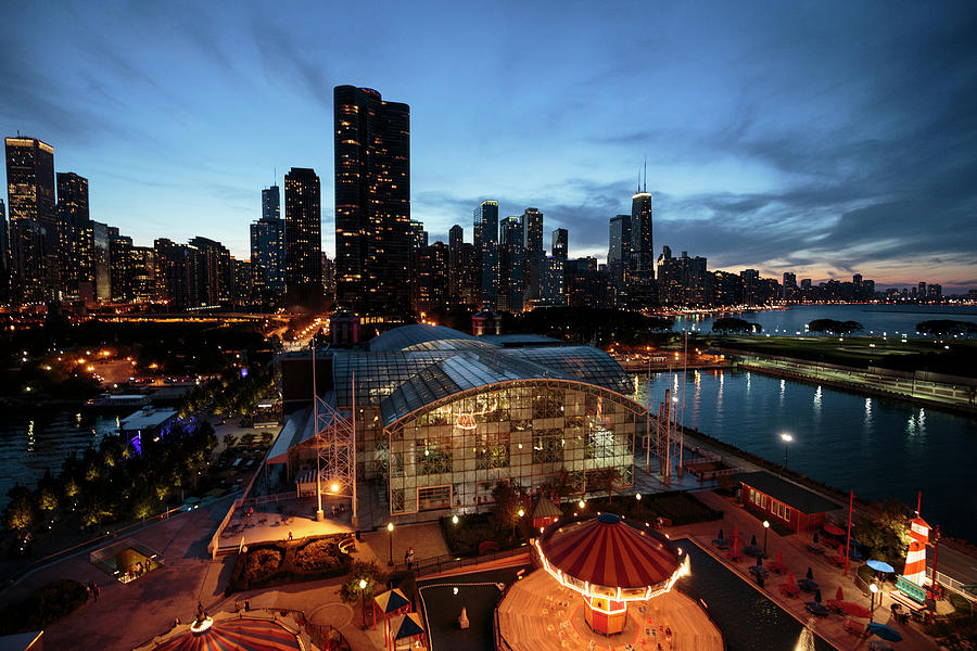 Chicago Photograph - Chicago, Illinois, Usa by Brent Bergherm