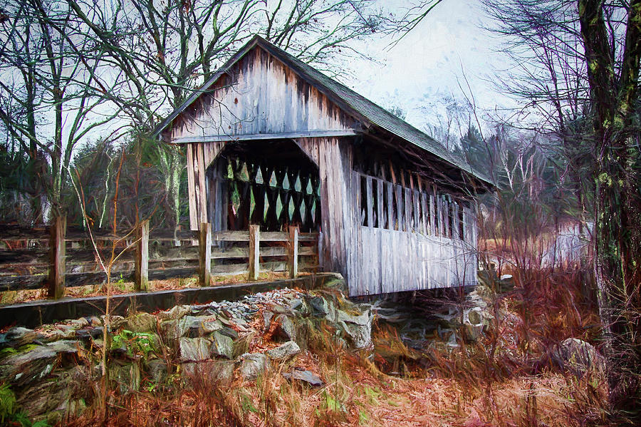 CilleyVille covered bridge by Jeff Folger