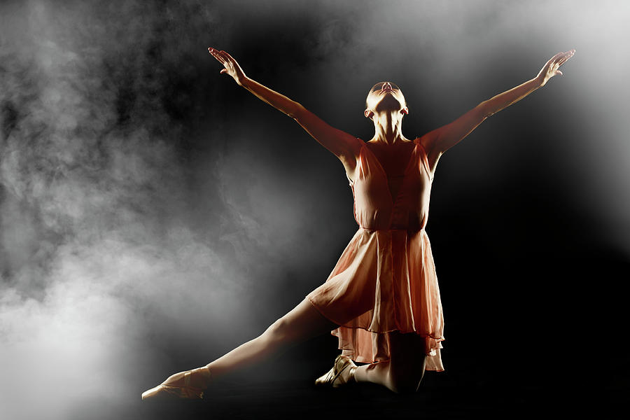 Classical Dancer Photograph by Oleg66