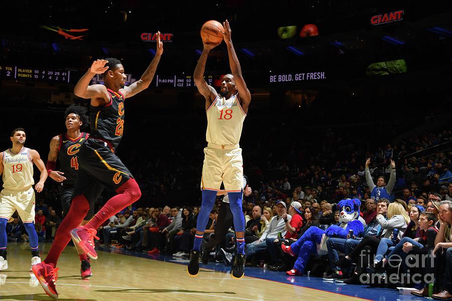 Cleveland Cavaliers V Philadelphia 76ers Photograph by Jesse D. Garrabrant
