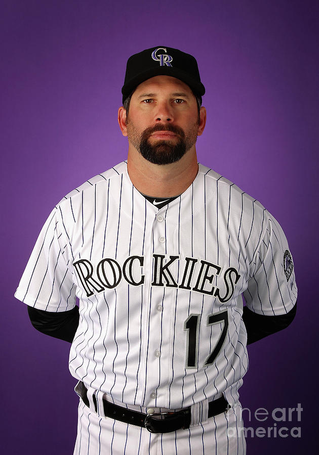 Colorado Rockies Photo Day 2 Photograph by Christian Petersen