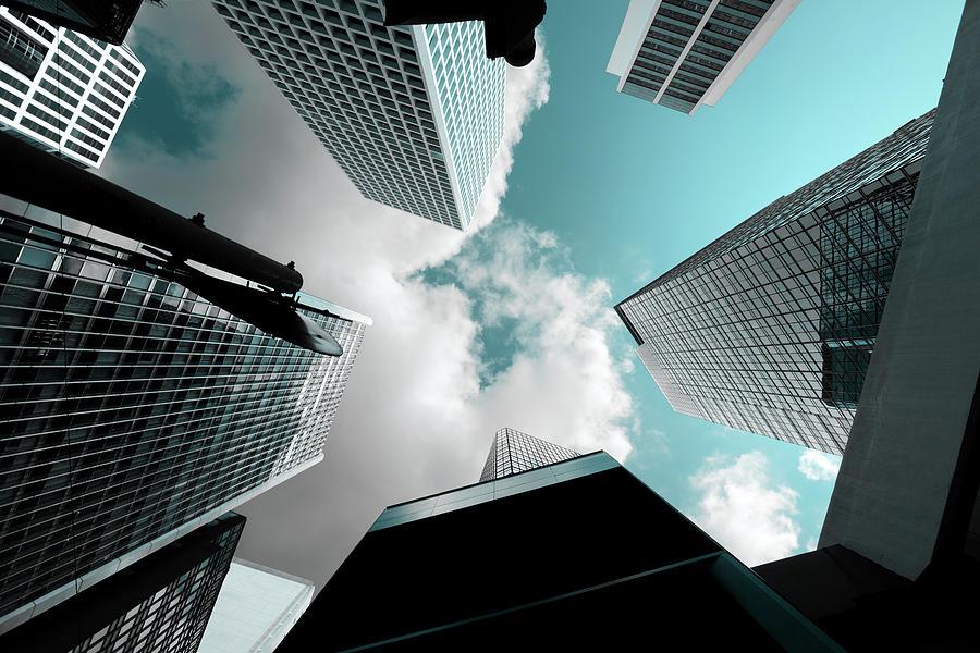 Corporate Buildings Photograph by Samxmeg