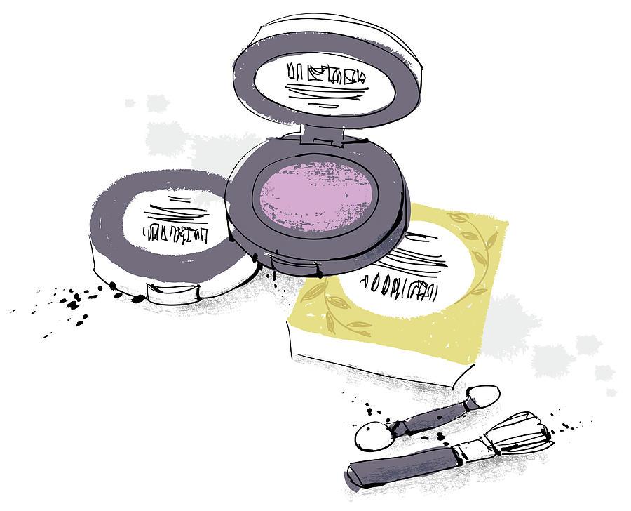 Cosmetics Digital Art by Eastnine Inc.