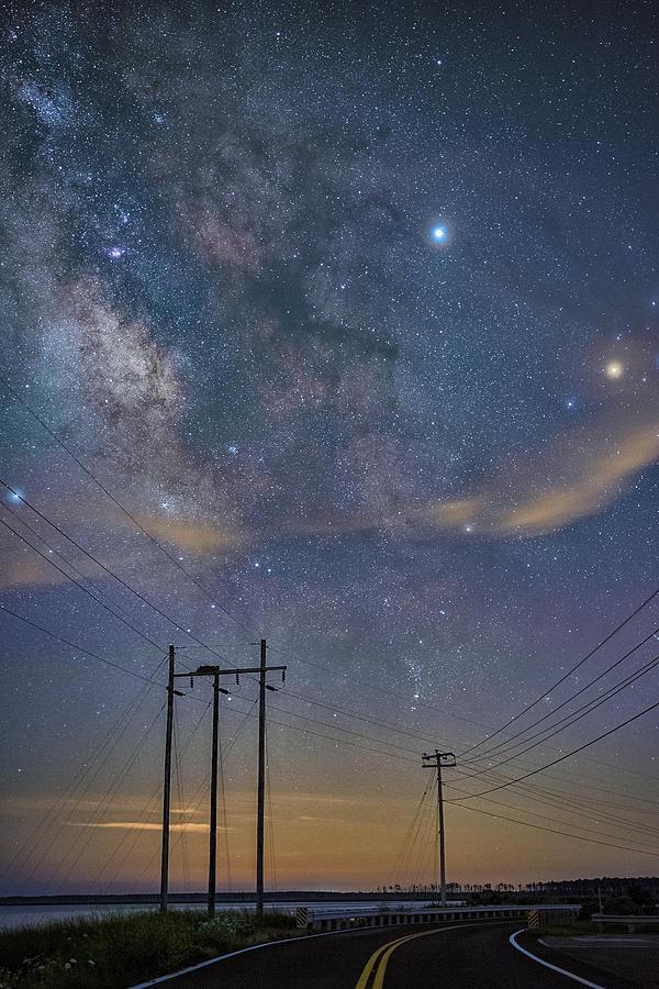 Cosmic Road Rage  by Robert Fawcett