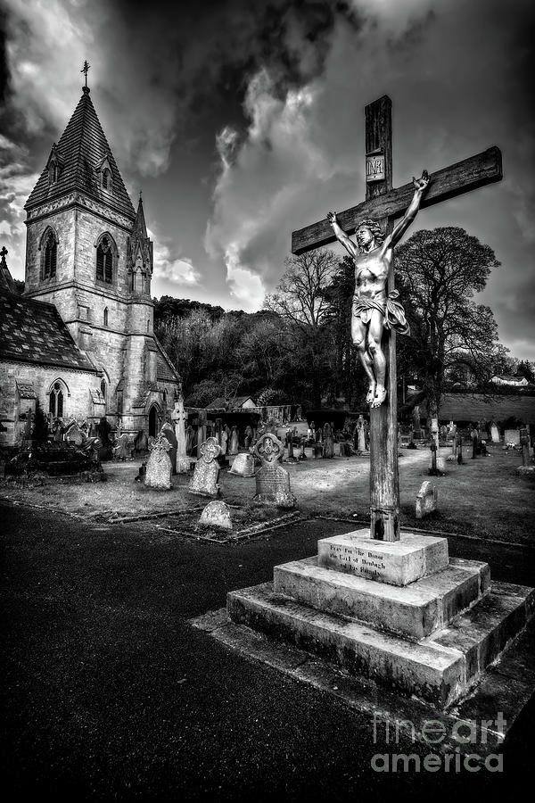 Catholic Photograph - Crucifixion Of Jesus by Adrian Evans