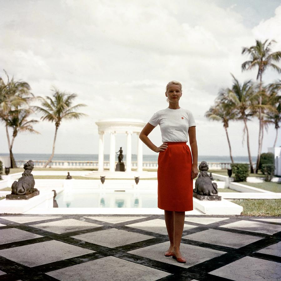 Cz Guest Photograph by Slim Aarons