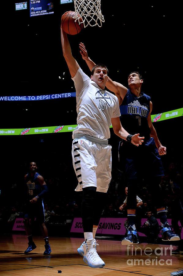 Dallas Mavericks V Denver Nuggets Photograph by Bart Young