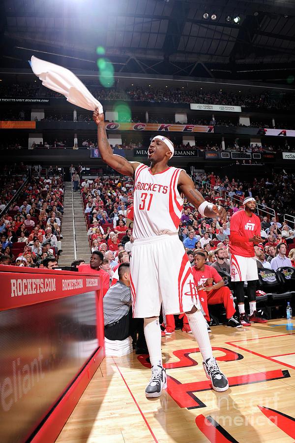 Dallas Mavericks V Houston Rockets Photograph by Bill Baptist