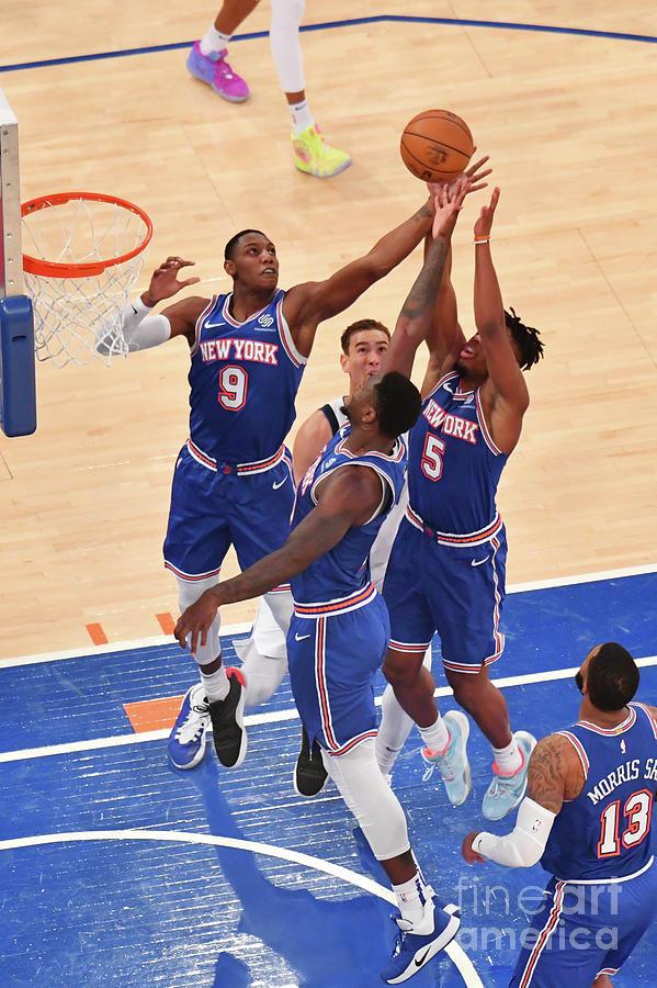 Dallas Mavericks V New York Knicks Photograph by Jesse D. Garrabrant