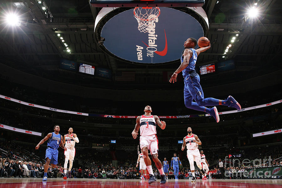 Dallas Mavericks V Washington Wizards Photograph by Ned Dishman