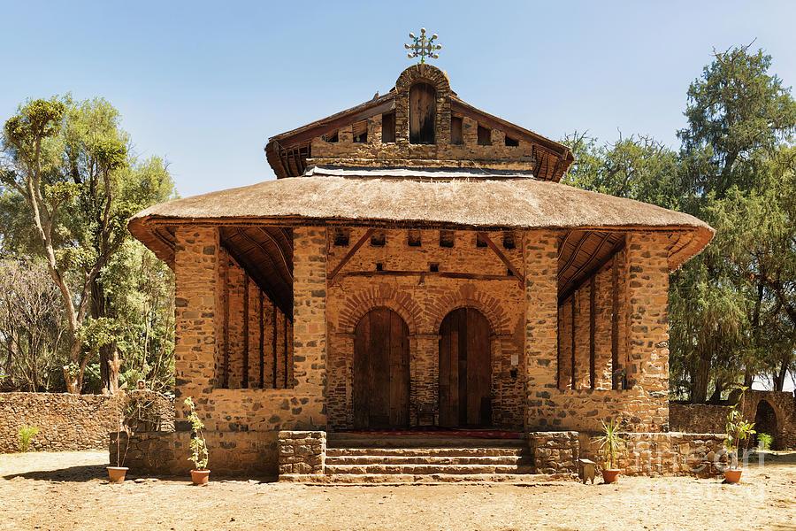 Debre Birhan Selassie Church in Gondar, Ethiopia by Marek Poplawski