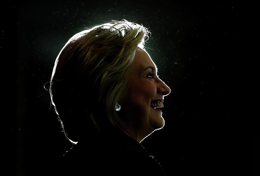 Democratic Presidential Nominee Hillary Photograph by Justin Sullivan