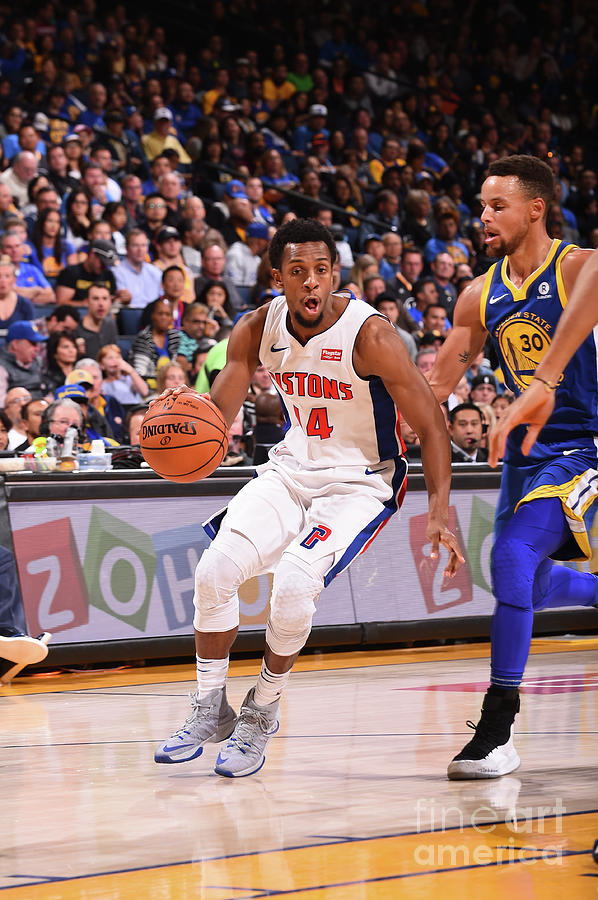 Detroit Pistons V Golden State Warriors Photograph by Noah Graham