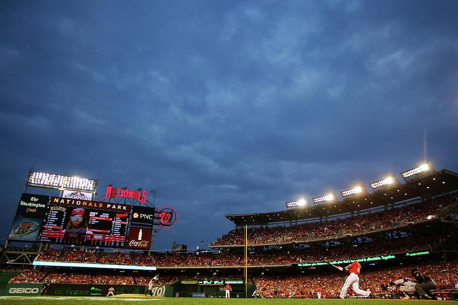 Division Series - San Francisco Giants Photograph by Al Bello