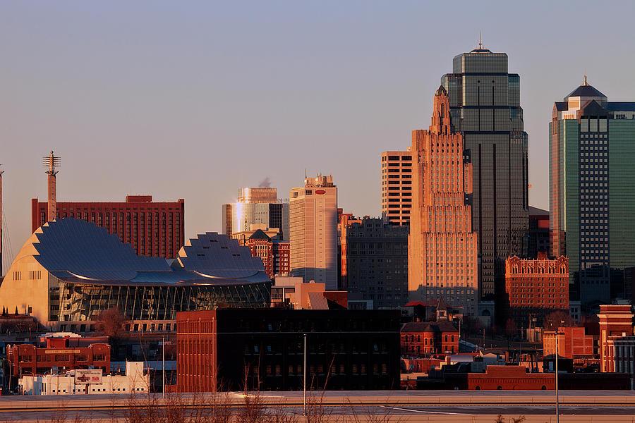 Downtown Kansas City Photograph by Eric Bowers Photo