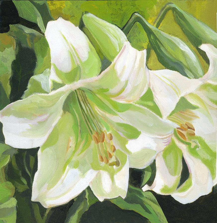 easter lilies by Alfred Ng