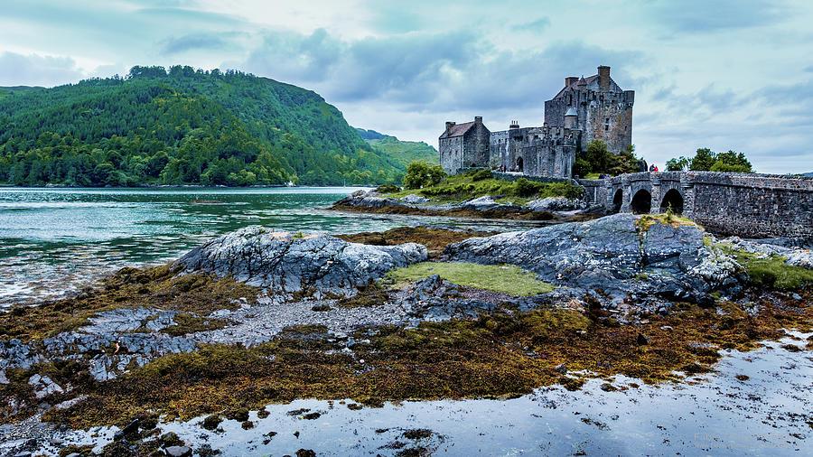 Castle Photograph - Eilean Donan Castle by Fabio Gomes Freitas