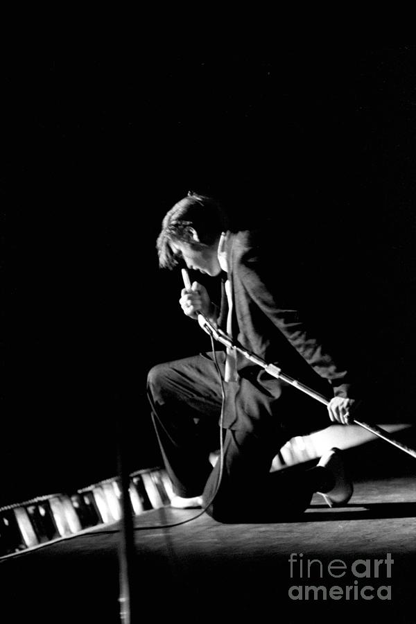 Elvis At The Mosque Theater Photograph by Alfred Wertheimer