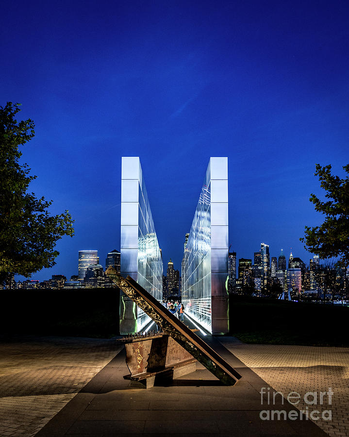 Empty Sky Photograph - Empty Sky Memorial by Zawhaus Photography