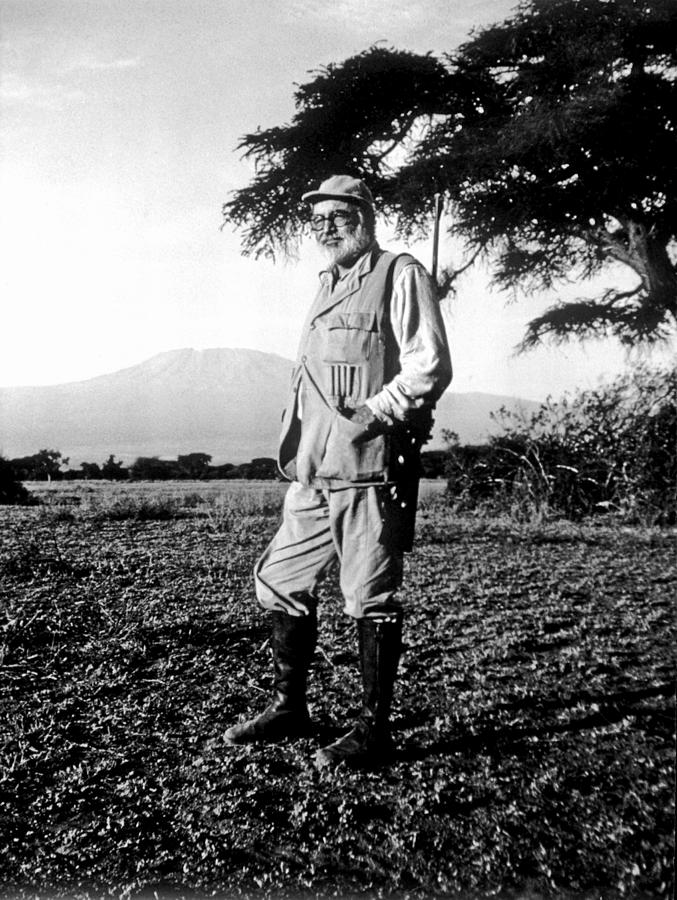 Ernest Hemingway On Safari Photograph by Earl Theisen Collection