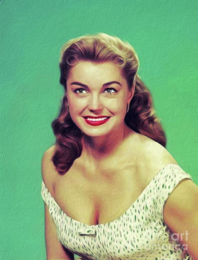 Esther Williams, Vintage Actress Painting