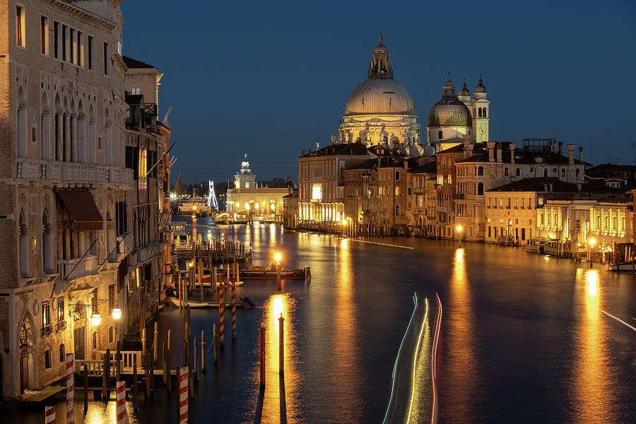 Evening light in Venice by Susan Leonard