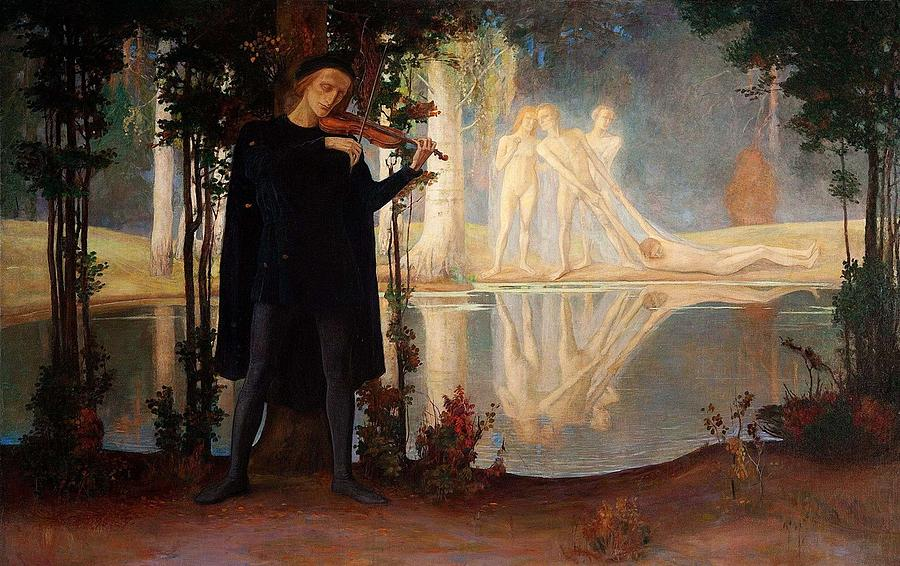 Image result for evening song painting